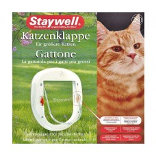 Karlie Staywell 280 Cat Flap - White, Large