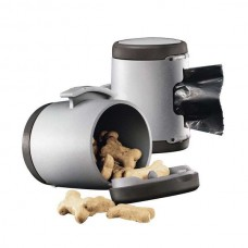 Flexi VARIO Multi Box for dog waste bags or treats Anthracite / Gray
