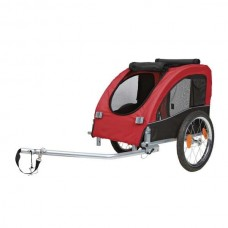 Trixie Bicycle Trailer - red / black S