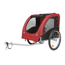Trixie Bicycle Trailer - red / black L