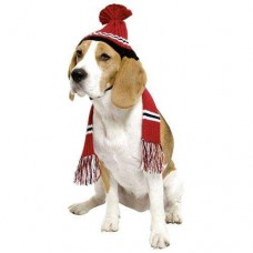 Karlie knit cap and scarf for dogs