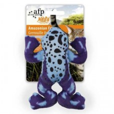 All for Paws Natural Instincts Amazonian Frog Cat Toys