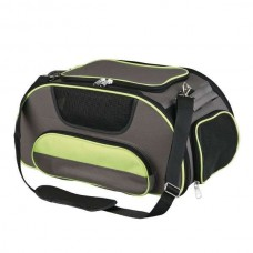 Trixie airline bag Wings - brown / green