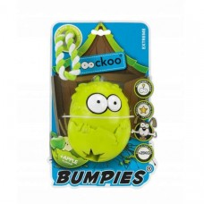 Coockoo Bumpies Extreme with rope and aroma - for dogs up to 27kg Apple