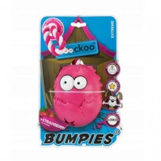 Coockoo Bumpies Extreme with rope and aroma - for dogs up to 27kg Strawberry