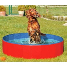 Karlie DOGGY POOL swimming pool for dogs - red-blue 120 cm