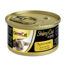 GimCat ShinyCat tuna with cheese in Jelly 70g