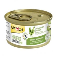 GimCat Superfood Duo ShinyCat chicken fillet with apples g 70
