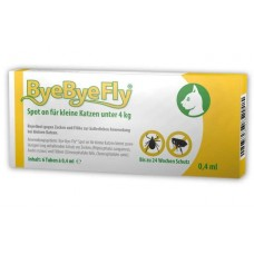 ByeByeFly® Spot-on for small cats less than 4 kg