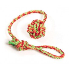 Karlie cotton toy ball with loop - 6.3 cm