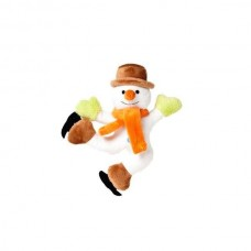 Karlie plush toy Xmas snowman with squeaker - 20 cm