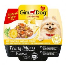 Fruity Menu stew with tuna, pineapple and vegetables 100g