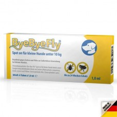 ByeByeFly® Spot-on for small dogs less than 10 kg