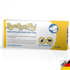 ByeByeFly® Spot-on for large dogs over 25 kg