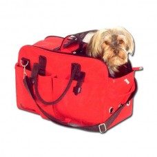 Karlie Teflon Carrying Case NO LIMIT Red