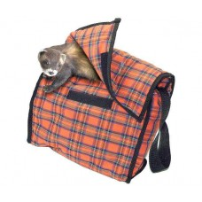 Karlie CLASSIC STYLE carrying case - red plaid