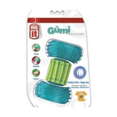 Dogit GUMI Chew & Clean dental care toy agents