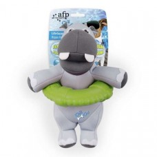 All for Paws Chill Out Lifeguard Hippo swimming toy