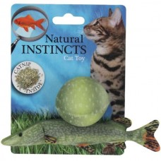 All for Paws Natural Instincts fish with ball