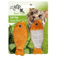 All for Paws Green Rush Fish 2 pieces