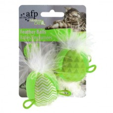 All for Paws Modern Cat Feather Ball