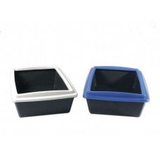 Karlie cat litter box with border
