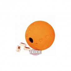 Trixie labyrinth SnakeSlider natural rubber snack ball 6 cm