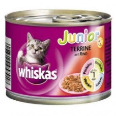 Whiskas Junior with Beef 195 g