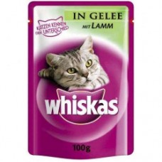 Whiskas g of lamb in jelly 100