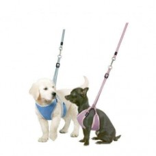 Karlie Flamingo Puppy Harness and Leash - Pink 10 mm / 10-18 cm